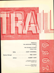 Page 5, 1959 Edition, College of Idaho - Trail Yearbook (Caldwell, ID) online yearbook collection