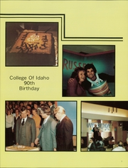 Page 11, 1982 Edition, College of Idaho - Trail Yearbook (Caldwell, ID) online yearbook collection