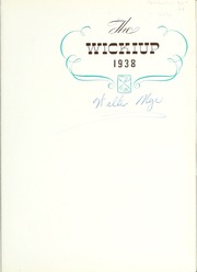 Page 5, 1938 Edition, Idaho State University - Wickiup Yearbook (Pocatello, ID) online yearbook collection