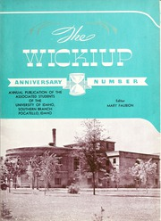 Page 7, 1938 Edition, Idaho State University - Wickiup Yearbook (Pocatello, ID) online yearbook collection