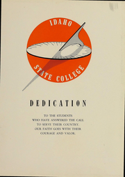Page 7, 1951 Edition, Idaho State University - Wickiup Yearbook (Pocatello, ID) online yearbook collection