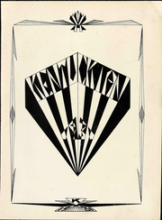 Page 9, 1931 Edition, University of Kentucky - Kentuckian Yearbook (Lexington, KY) online yearbook collection