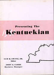 Page 7, 1941 Edition, University of Kentucky - Kentuckian Yearbook (Lexington, KY) online yearbook collection