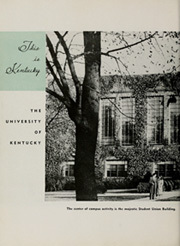 Page 12, 1949 Edition, University of Kentucky - Kentuckian Yearbook (Lexington, KY) online yearbook collection