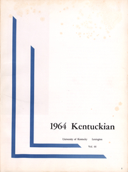 Page 2, 1964 Edition, University of Kentucky - Kentuckian Yearbook (Lexington, KY) online yearbook collection