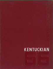 Page 1, 1966 Edition, University of Kentucky - Kentuckian Yearbook (Lexington, KY) online yearbook collection