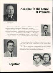 Page 16, 1955 Edition, Truman State University - Echo Yearbook (Kirksville, MO) online yearbook collection
