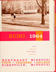 Page 5, 1964 Edition, Truman State University - Echo Yearbook (Kirksville, MO) online yearbook collection