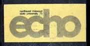 1975 Edition, Truman State University - Echo Yearbook (Kirksville, MO)