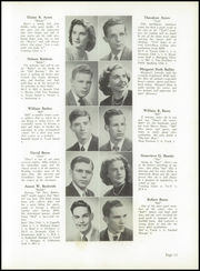 Page 17, 1949 Edition, Morristown High School - Cobbonian Yearbook (Morristown, NJ) online yearbook collection