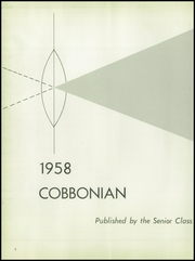 Page 6, 1958 Edition, Morristown High School - Cobbonian Yearbook (Morristown, NJ) online yearbook collection