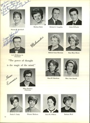 Page 22, 1965 Edition, Edison High School - Talon Yearbook (Edison, NJ) online yearbook collection
