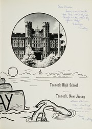 Page 7, 1960 Edition, Teaneck High School - HI Way Yearbook (Teaneck, NJ) online yearbook collection