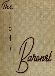 1947 Edition, Woodbridge High School - Baronet Yearbook (Woodbridge, NJ)