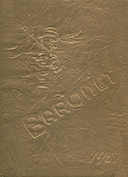 1951 Edition, Woodbridge High School - Baronet Yearbook (Woodbridge, NJ)