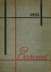 1952 Edition, Woodbridge High School - Baronet Yearbook (Woodbridge, NJ)