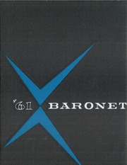 1961 Edition, Woodbridge High School - Baronet Yearbook (Woodbridge, NJ)