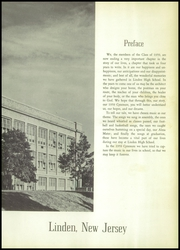 Page 7, 1959 Edition, Linden High School - Cynosure Yearbook (Linden, NJ) online yearbook collection