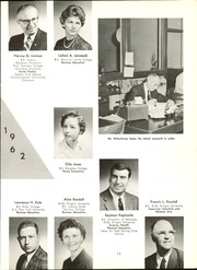 Page 17, 1962 Edition, Linden High School - Cynosure Yearbook (Linden, NJ) online yearbook collection