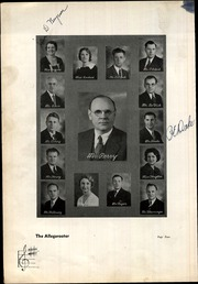 Page 8, 1935 Edition, Rahway High School - Allegarooter Yearbook (Rahway, NJ) online yearbook collection
