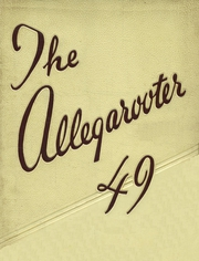 Page 1, 1949 Edition, Rahway High School - Allegarooter Yearbook (Rahway, NJ) online yearbook collection