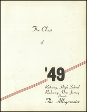 Page 5, 1949 Edition, Rahway High School - Allegarooter Yearbook (Rahway, NJ) online yearbook collection