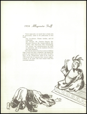 Page 6, 1958 Edition, Rahway High School - Allegarooter Yearbook (Rahway, NJ) online yearbook collection