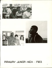 Page 5, 1983 Edition, Rahway High School - Allegarooter Yearbook (Rahway, NJ) online yearbook collection