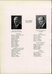 Page 10, 1932 Edition, Columbia High School - Mirror Yearbook (Maplewood, NJ) online yearbook collection