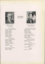 Page 11, 1932 Edition, Columbia High School - Mirror Yearbook (Maplewood, NJ) online yearbook collection