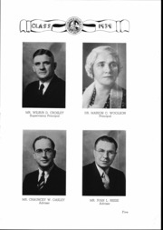 Page 6, 1939 Edition, Manasquan High School - Treasure Yearbook (Manasquan, NJ) online yearbook collection