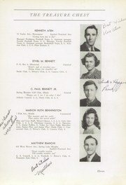 Page 15, 1942 Edition, Manasquan High School - Treasure Yearbook (Manasquan, NJ) online yearbook collection