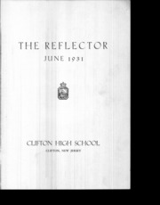 Page 2, 1931 Edition, Clifton High School - Rotunda Yearbook (Clifton, NJ) online yearbook collection