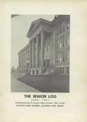 Page 5, 1937 Edition, Clifton High School - Rotunda Yearbook (Clifton, NJ) online yearbook collection