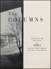 Page 7, 1953 Edition, Clifton High School - Rotunda Yearbook (Clifton, NJ) online yearbook collection