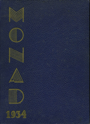 1934 Edition, Belleville High School - Monad Yearbook (Belleville, NJ)