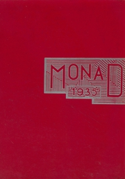 1935 Edition, Belleville High School - Monad Yearbook (Belleville, NJ)