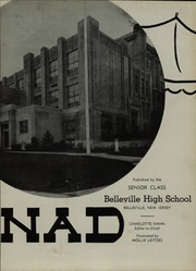 Page 7, 1941 Edition, Belleville High School - Monad Yearbook (Belleville, NJ) online yearbook collection