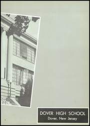 Page 7, 1958 Edition, Dover High School - Tiger Yearbook (Dover, NJ) online yearbook collection