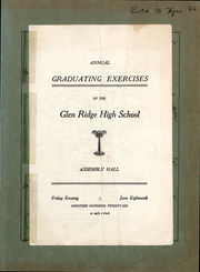 Page 6, 1926 Edition, Glen Ridge High School - Glenalog Yearbook (Glen Ridge, NJ) online yearbook collection