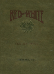 1924 Edition, Battin High School - Red and White Yearbook (Elizabeth, NJ)
