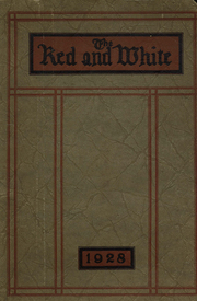 1928 Edition, Battin High School - Red and White Yearbook (Elizabeth, NJ)