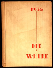 1936 Edition, Battin High School - Red and White Yearbook (Elizabeth, NJ)