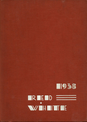 1938 Edition, Battin High School - Red and White Yearbook (Elizabeth, NJ)