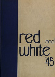 1945 Edition, Battin High School - Red and White Yearbook (Elizabeth, NJ)
