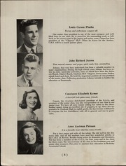 Page 10, 1946 Edition, Chatham High School - Chatter Yearbook (Chatham, NJ) online yearbook collection