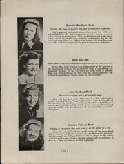 Page 12, 1946 Edition, Chatham High School - Chatter Yearbook (Chatham, NJ) online yearbook collection
