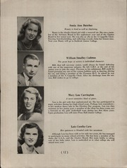 Page 14, 1946 Edition, Chatham High School - Chatter Yearbook (Chatham, NJ) online yearbook collection