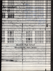 Page 7, 1968 Edition, Bernards High School - Bernardian Yearbook (Bernardsville, NJ) online yearbook collection