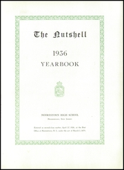 Page 7, 1936 Edition, Moorestown Senior High School - Nutshell Yearbook (Moorestown, NJ) online yearbook collection